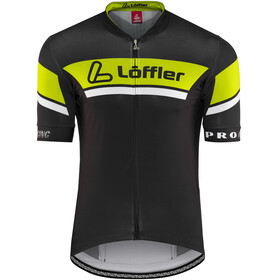 Löffler Pro Racing FZ Jersey Men black/light green